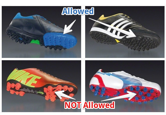 Arena Sports, No Cleats Allowed,